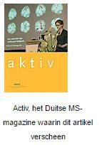 Activ, het Duitse MS-magazine