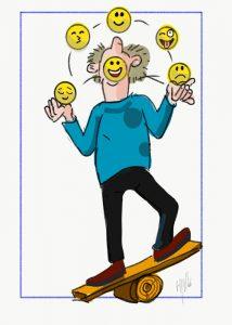 Humeurmanagement - Cartoon Henk Visser