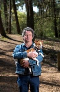 Bewegen: wandelen met een wandelmaatje en de hond