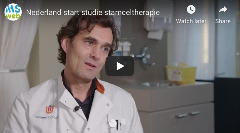 Nederland Start Studie Stamceltherapie Bij MS