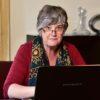 Mariette Achter Haar Laptop