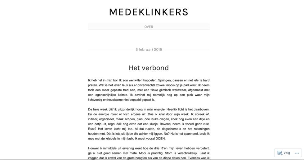 Medeklinkers.wordpress.com