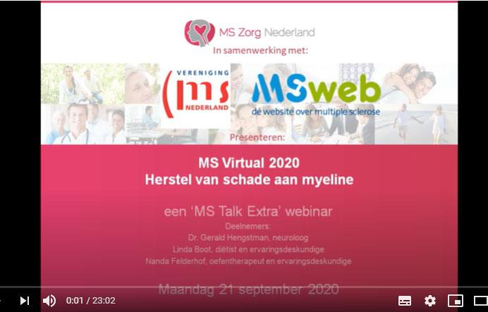 MSTalk Extra 3: Herstel Van Schade Aan Myeline