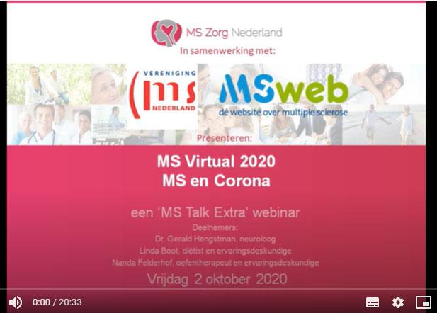 MS Talk: MS En Corona