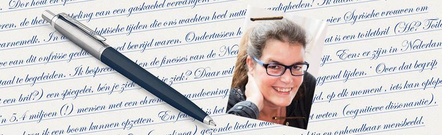 Lisette Blogt Over MS