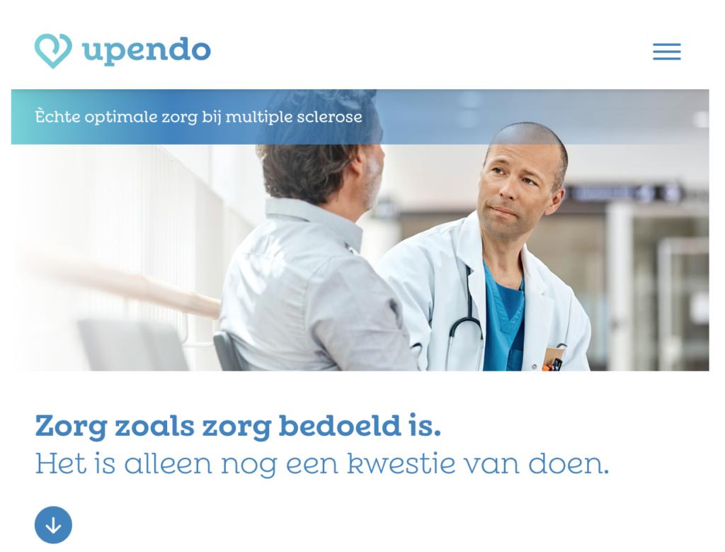 Homepage upendo.nl