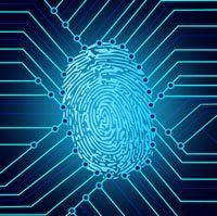 Biometric fingerprint identification system electronics