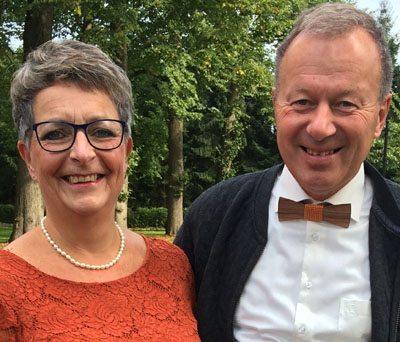 Host van de partnermailgrooep Nicolette en haar man Willem