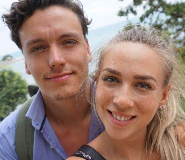 Jarno en zijn vriendin