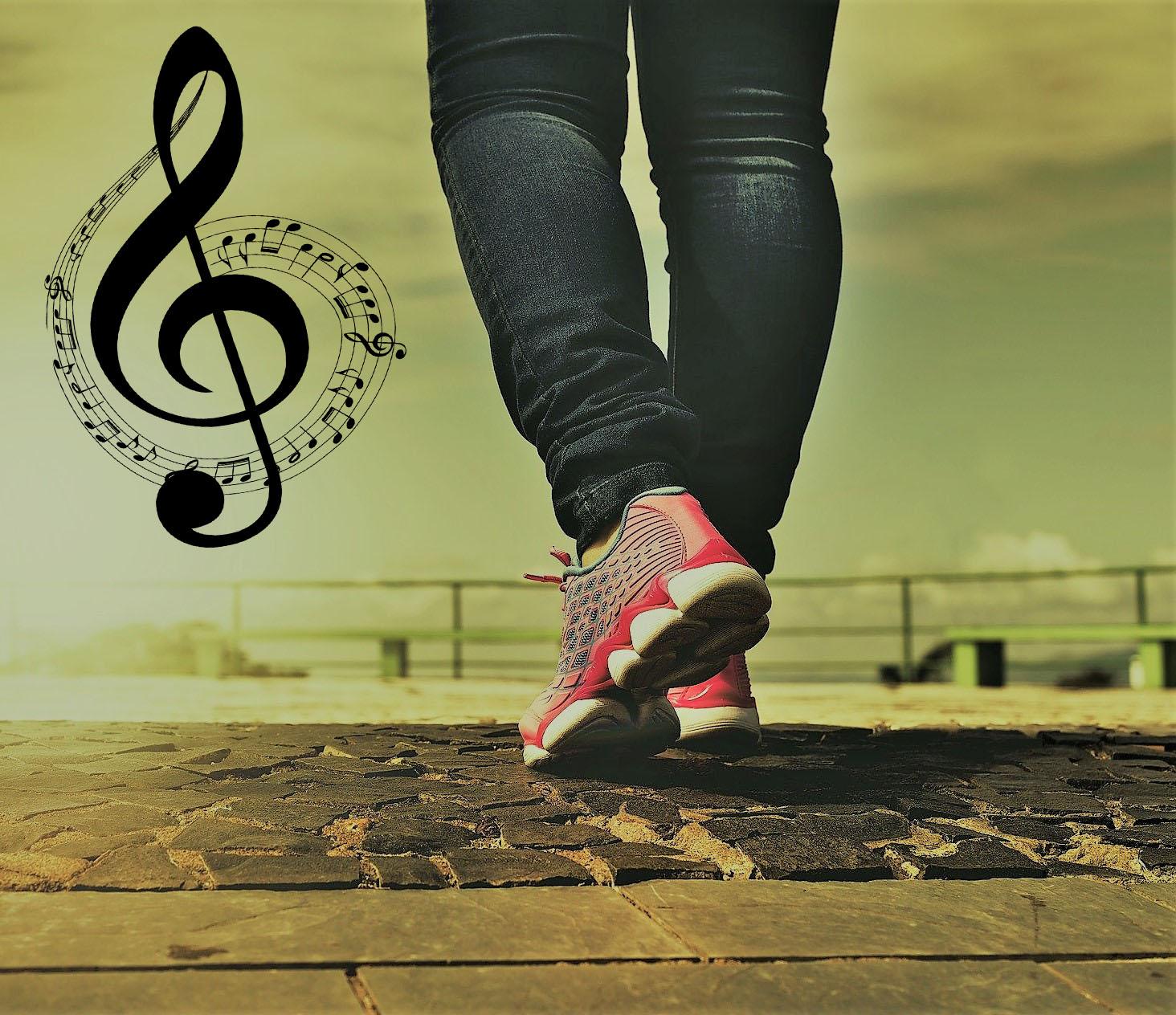 Muziek werkt positief op loopdynamiek