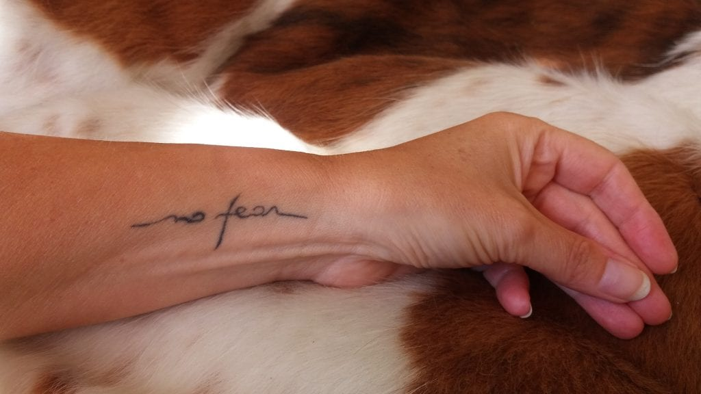 tatoeage No Fear