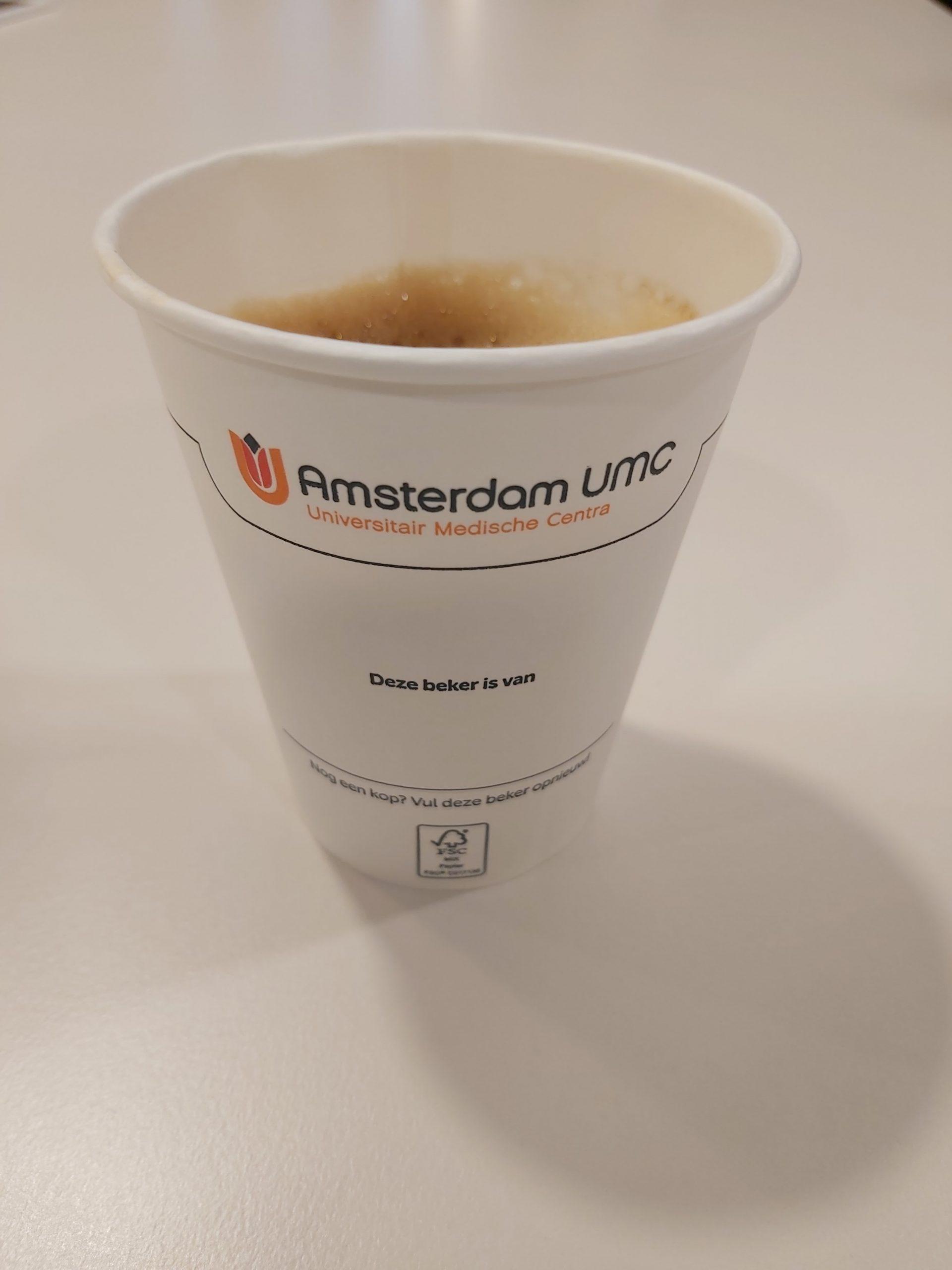 koffiebeker VU