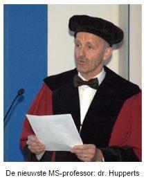 De nieuwste MSprofessor dr Hupperts