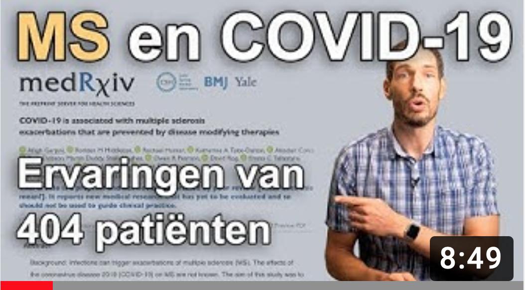MS-medicatie misschien voordeel bij COVID-19