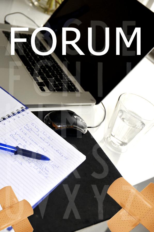 Online spreekuur Forum
