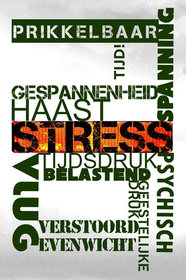 Collage Stress, stress. stress...