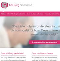 website MS Zorg Nederland