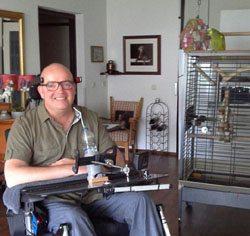 MS en 1000 gezichten: Frank en papegaai Baco