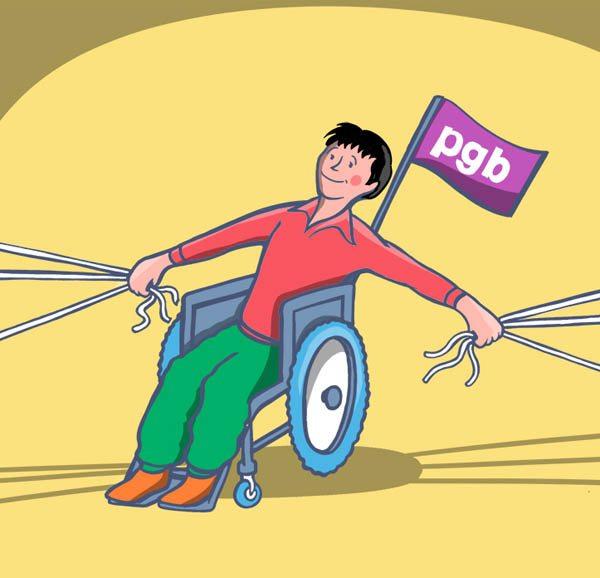 Met PGB zelf de touwtjes in handen