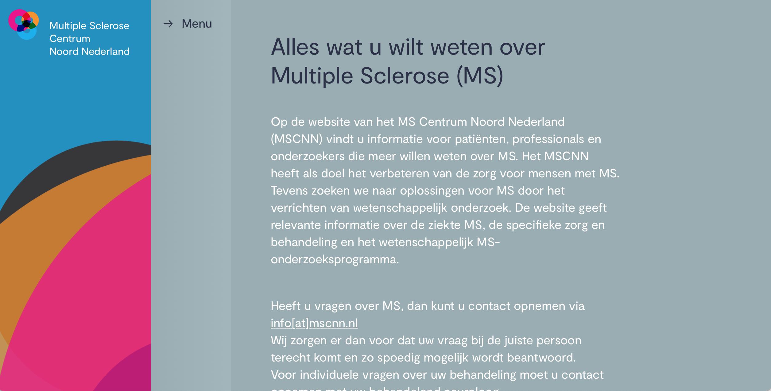 Multiple Sclerose Centrum Noord Nederland