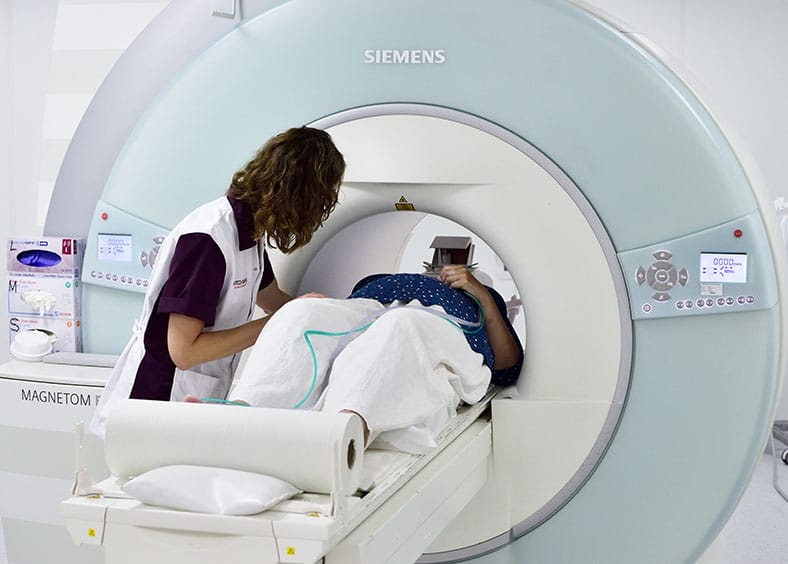 Mri-scan Bij Een Ms-patiënt