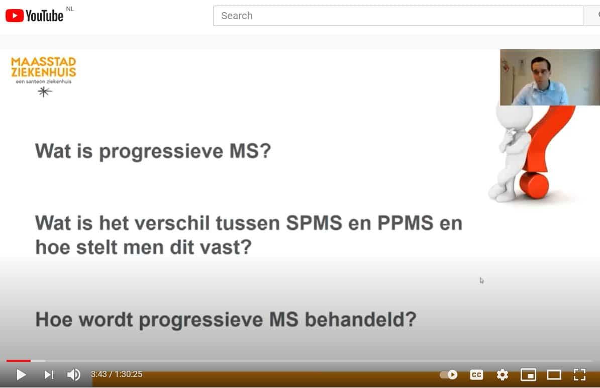 Lezing Over Progressieve MS