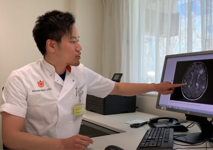 Arts-onderzoeker en promovendus Ka-Hoo Lam